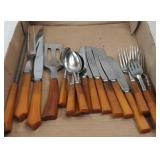 Vintage Flatware with Bakelite Handles