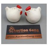 Salt & Pepper - Japan White & Red Chickens