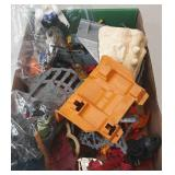 Flat of Miscellaneous Toys GI Joe, Transformers,