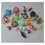 Vintage lot of Gumball Rings McDonald