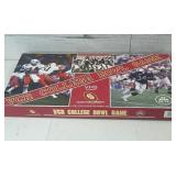 Vintage VCR College Bowl Board Game Complete