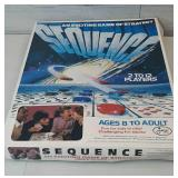 Vintage Sequence Board Game Complete