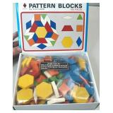 *NEW* Wooden Pattern Blocks 150 Pieces