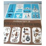 Vintage International Dinner Mats two packs 4 per