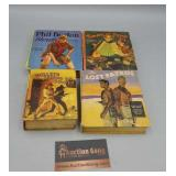 Big Little Book Lot of 4 - Bullets Across the