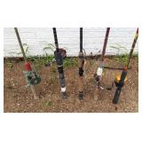 Fishing Rods & Reels - Lot #4