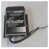 The actuator electronic trailer brake  control