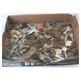 Flat of miscellaneous keys