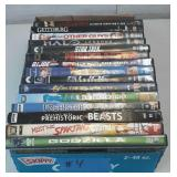 Flat of miscellaneous dvds lot of 15 flat #4