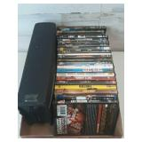 Flat of assortment dvd lot 23 and movies in a
