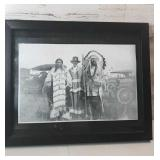 Copy of an picture of  native American and a