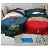 Flat of miscellaneous hats flat #7