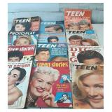 Group of 1960s teen magazine little musty needs