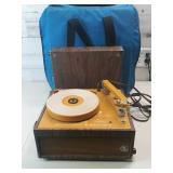 Newcomb EDT 12c Portable Record Player - comes w