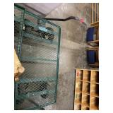 Green Flatbed Cart