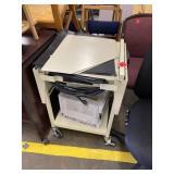 rolling printer cart