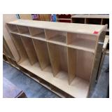 solid wood cubby