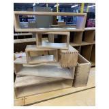 Lot of large hollow wooden blocks/manipulatives