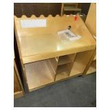 childs wooden podium/cabinet