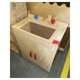 childs wooden sink