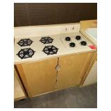 childs wooden stove