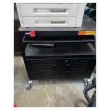 Metal rolling Printer Cart