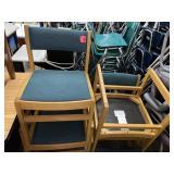 Wood Chairs- 4