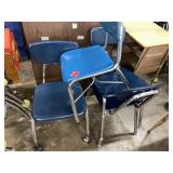 Lot of 3 Student Chairs