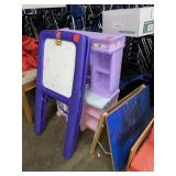 Step 2 easel, toy kitchen, easel