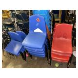 Lot of approx 25 chairs