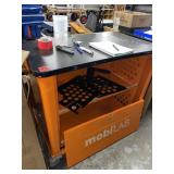 Mobilab Cart, holds/charges laptops, ipads