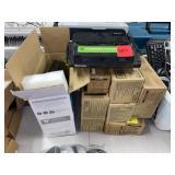 Lot of Assorted Printer Toner