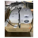 NEC Wall Projector & cord
