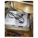 NEC Wall Projector, cord and remote