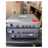 lot of 3 classroom amplification systems LES