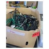 box lot of cords