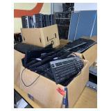 box lot keyboard, several boxes