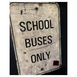 school bus signs