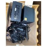 box lot speakers, cords