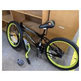 huffy bicycle, bent forks