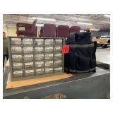 tool bag, fuse box
