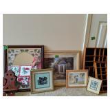 Art Prints, Mirror, Wall Shelf, Wall Mount
