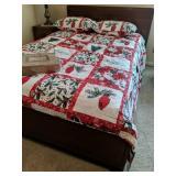 Three Piece Full Size Bedroom Suite. Mistletoe