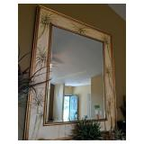"Decorative Beveled Glass Wall Mirror 44x 54"""