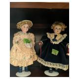 Shelf A Lot Of Dolls.