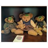 Shelf Lot Teddy Bears. Russ Vintage Edition