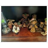 Shelf Lot Teddy Bears. Boyd