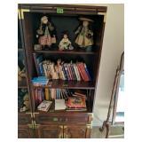Bernhardt Cherry Oriental Style Bookshelf