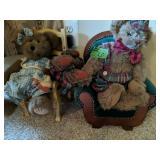 Teddy Bears, Doll Furniture