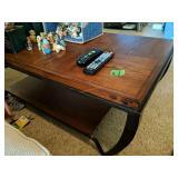 "Oak Coffee Table 48x24x18"""